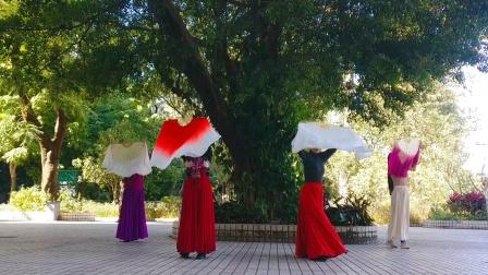 古典大扇舞 我爱你中国