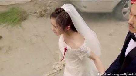 婚纱女中枪
