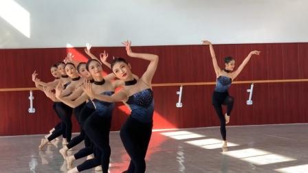 广东舞蹈戏剧职业学院中专毕业考试,c位太稳了,应该是北舞的料
