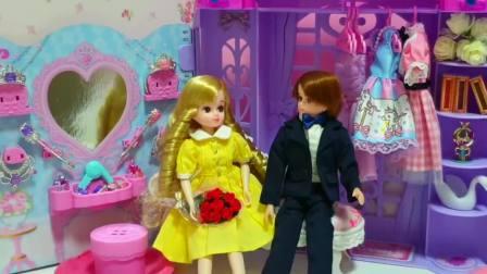 儿童亲子互动,芭比娃娃早上活动和家庭约会,快来看看吧