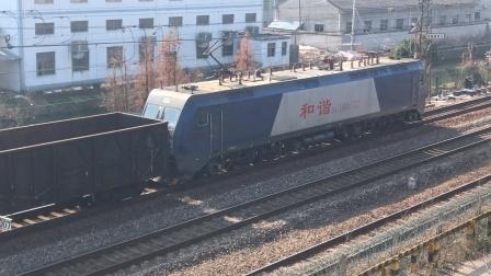 [2021.1.2]【余姚蜀山站附近】HXD1B-0572牵引空车通过