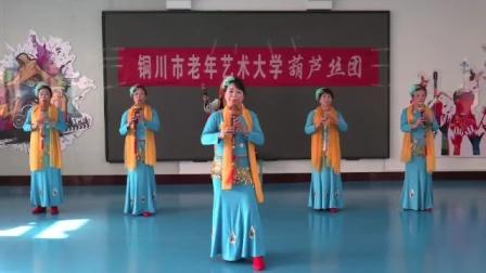. 铜川葫芦丝艺术团参赛作品: 《月光下的凤尾竹》轮吹(上)2020.12.31.