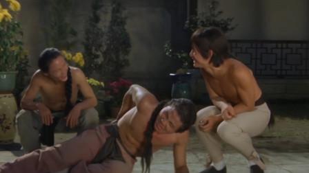 两位哥哥跟方世玉比武,打不过就算了,结果反倒被他嘲笑