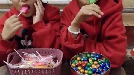 亲子游戏:你拿我的糖,我拿你的巧克力