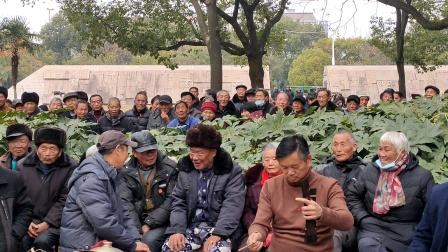 浦江周日文化娱广场娱乐队徐灵芝演唱《严天明》