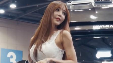 汽车展会,好优雅的美女车模