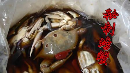 韩国人吃螃蟹颇有心得,这种秘制做法才是吃鲜首选,你敢吃吗?