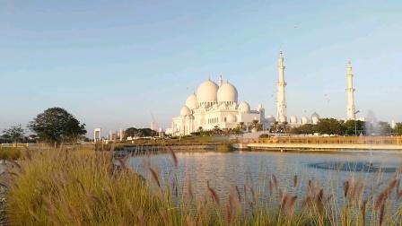 阿布扎比谢赫扎伊德清真寺,领略建筑世界的极致奢华