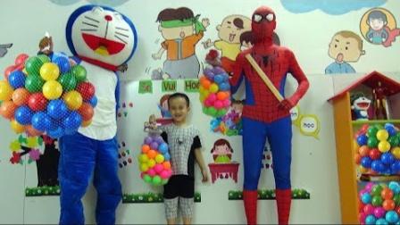 蜘蛛侠:蜘蛛侠去幼儿园里当教师!