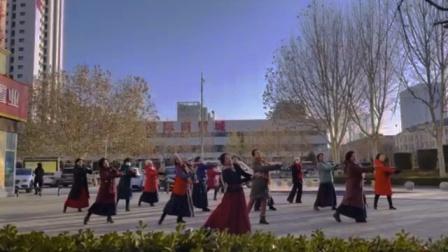 2021年第一支舞蹈~可可托海的牧羊人
