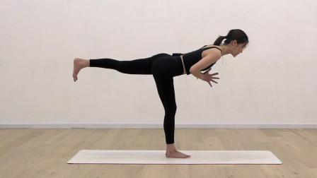 瑜伽入门体式详解——战士第三式