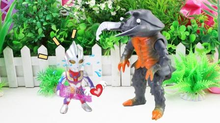 奥特曼故事魔法零食可以对抗怪兽,迪迦早早吃完了怎么办