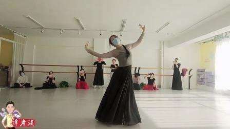 原创古典舞《一荤一素》,哪怕是舞者带着口罩,也不影响舞蹈的美
