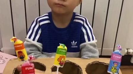 亲子游戏:宝贝,你想不想吃这些可爱的棒棒糖啊
