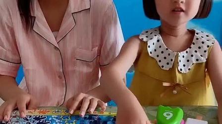 亲子游戏:姐姐的那个棒棒冰能吃,我这个雪糕不能吃,是玩具