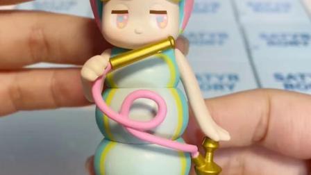 1梦幻潘神爱丽丝系列拆盒玩具泡泡玛特盲盒