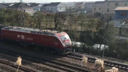 [2021.1.2]【余姚蜀山站附近】HXD1D-0170牵引客列快速通过