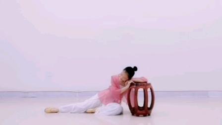 青葱黛绿正背面演示《闲庭絮》原创刘柏茹