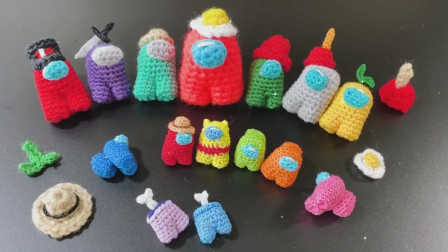 「钩针编织」可爱的玩偶娃娃!