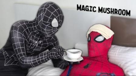 蜘蛛侠:毒液给生病的蜘蛛侠量体温!