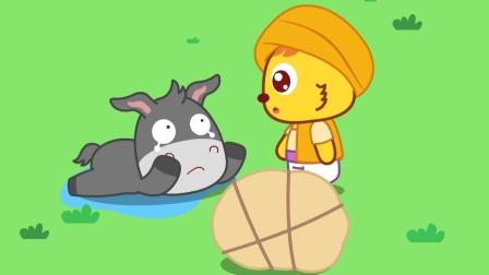 偷懒的后果!驴不好好干活,差点被淹死了