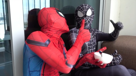 蜘蛛侠:蜘蛛侠与毒液去紧急救援!