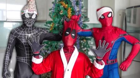 蜘蛛侠:毒液邀请死侍来家里过圣诞节!