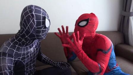 蜘蛛侠:蜘蛛侠去给毒液买早餐!