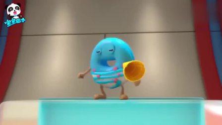 孩子爱看动画宝宝巴士:甜甜圈竞技比赛