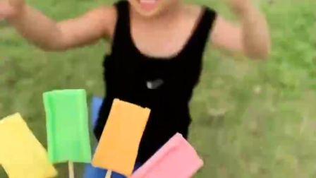 童年的记忆:女儿想吃什么颜色的糖