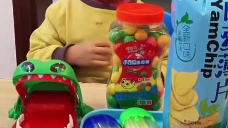 童年的记忆:宝贝你想吃哪个啊