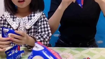 亲子游戏:姑娘们,来吃糯米小丸子了