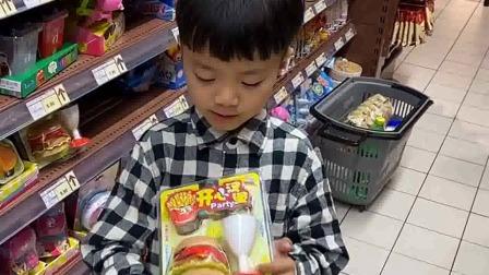 亲子游戏:凯凯,想买这个玩具