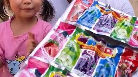 童年的趣事:五种味道的糖果,好吃吗