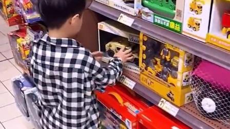 童年的趣事:我不买玩具,光看看!