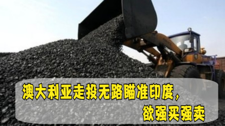 16万吨煤炭滞留中国港口,澳大利亚走投无路瞄准印度,欲强买强卖