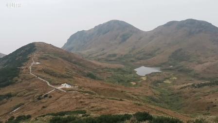 骑游嵛山岛天湖景区