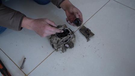 弯梁摩托车摇臂和凸轮安装技巧!安装时需要注意什么?