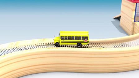 乐享知识乐园的校车巴士顺利从涂装间驶出