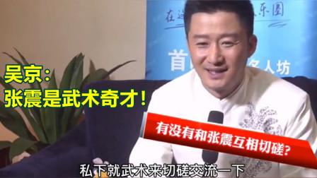 吴京评价张震:他是一个武术奇才!