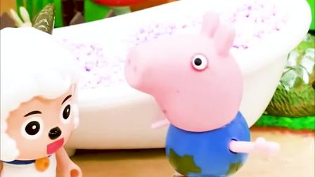 乔治真的让喜羊羊长大了,只有沸羊羊不想长大,这是为什么呀