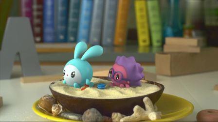 瑞奇宝宝:跳跳和诺诺要去海边玩,听起来很有趣,大家也来加入吧