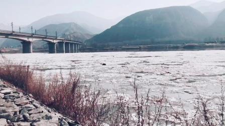 兰州著名景点黄河铁路第一桥三江口天鹅滩圣池奇景,百年一遇冰川天池