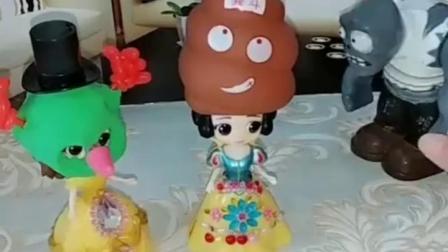 亲子有趣幼教玩具:化妆舞会上的真假僵尸