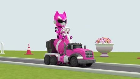 迷你特工队游戏:露西的机器人变身了,变成了什么?