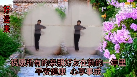 江永永健广场舞《好运来》