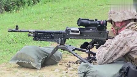 强悍的大机枪射击,子弹管够
