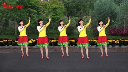 经典红歌广场舞《毛主席的光辉》藏族舞风格