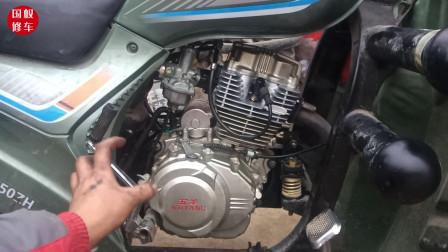 大修过的发动机,把这几个地方保养一下,轻松能让你多骑几年不坏