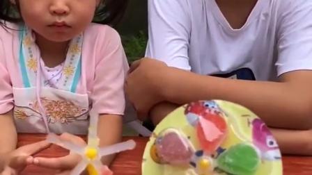 童年的记忆:风车糖,你们喜欢吃吗